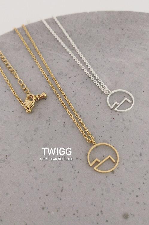 Mitre Peak Necklace- Silver