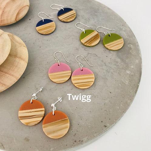 4x Linear Scandi earrings  - mix