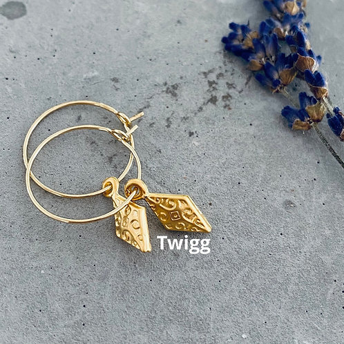 OTTOMAN lozenge earrings