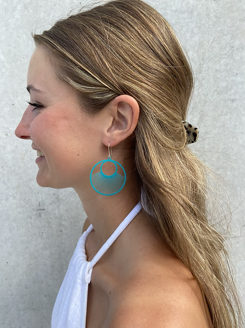 Viaduct metal earrings