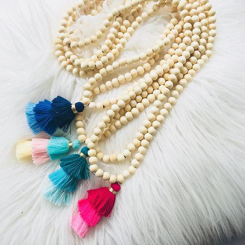 Tiered Tassel Necklace