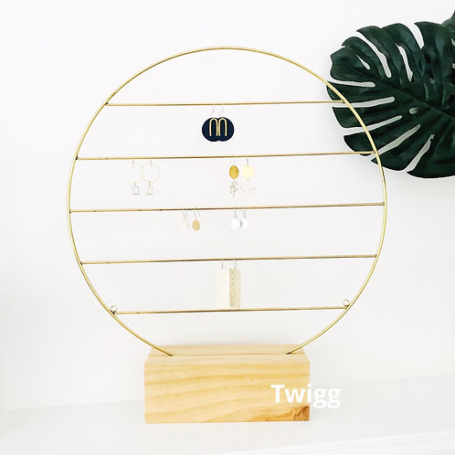 Circle earring display Stand