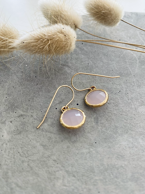 Phoebe Audrey round drop earrings