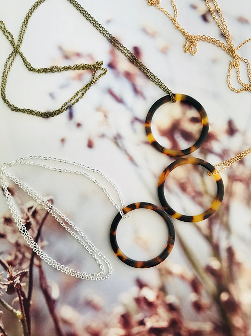 Infinity pendant necklace 0221