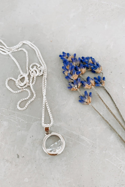 Tidal sterling silver necklace