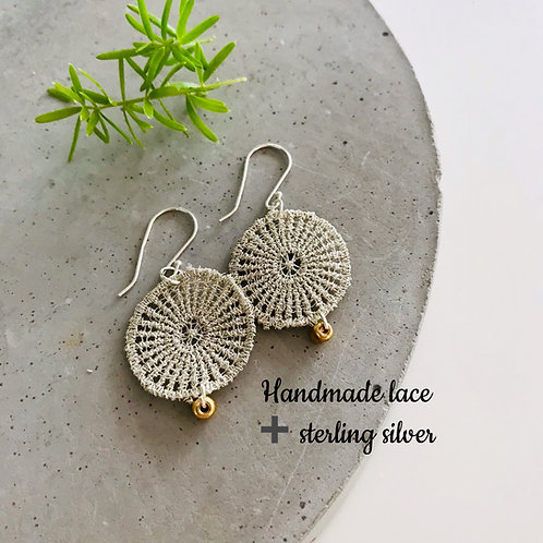 Florence Lace Resin earrings