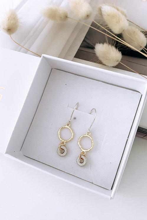 Dolble tyre earrings