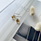 Thumbnail: Austrian Crystal Droplet Earrings -Amber