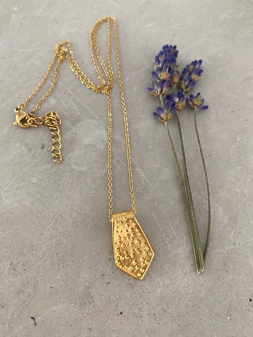 Flagship gold necklace