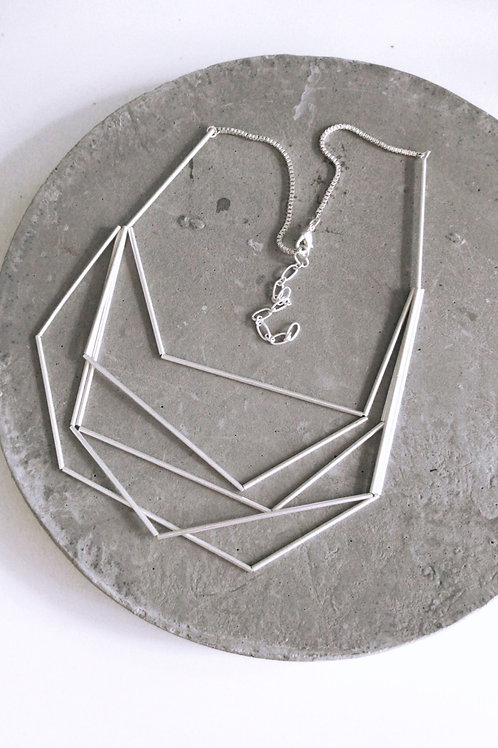 Olivia nested necklaces