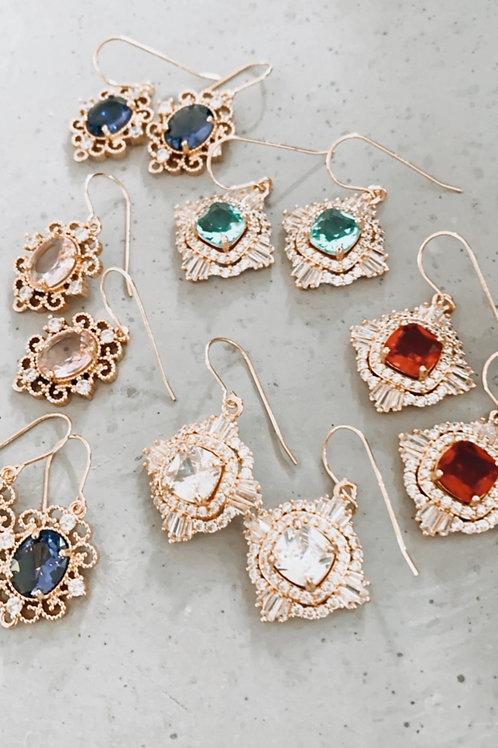 Leon CRYSTAL Earrings