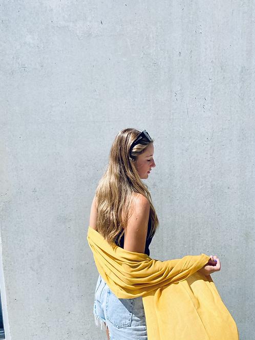 Oh brighten up - Mustard scarf