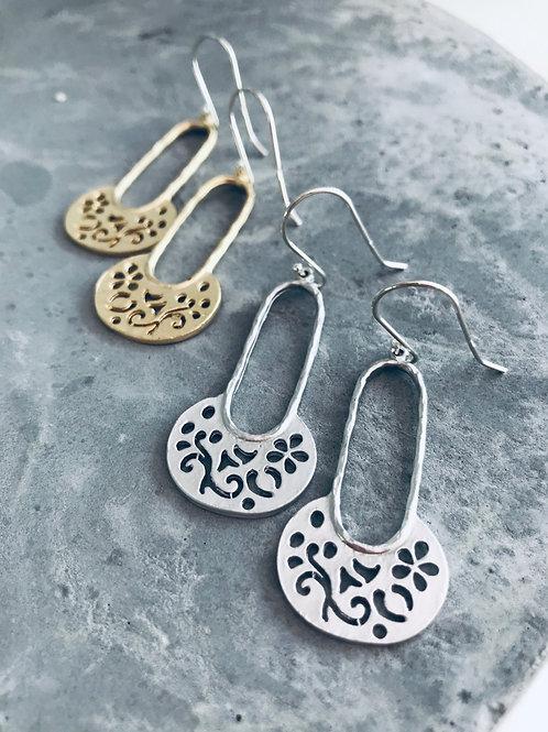 Moroccan drop earrings