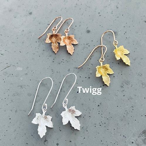 MAPLE leaf earrings HOOk