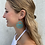 Thumbnail: Viaduct metal earrings