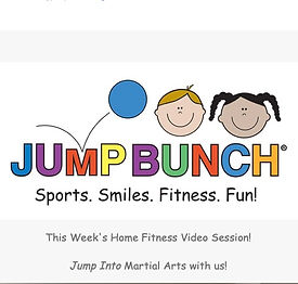 Episode 2 of JumpBunch at Home.  Get ready for martial arts with Coach Grant.