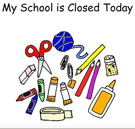 """My School is Closed Today"" - From Noni Lindahl, this social story can help you explain to your child why there is currently no school."