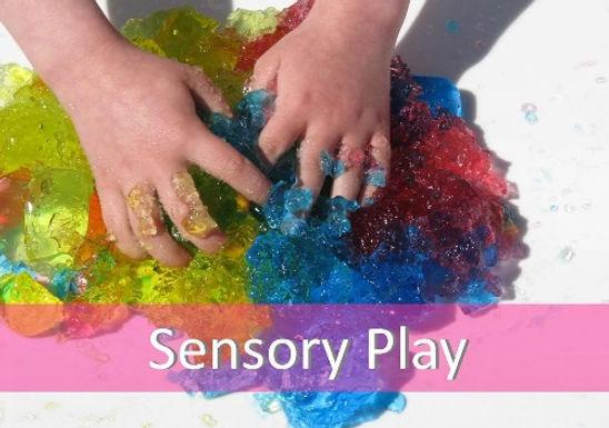 3 Recipes for Sensory Materials