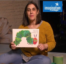 Listen and act-out The Very Hungry Caterpillar with theater luminaries from Imagination Stage!