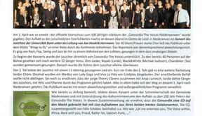 01.05.2017 - Revue musicale UGDA : Jazzchor Bonn, Nouveau CD et Workshop