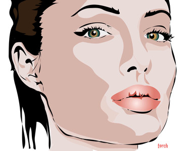 Angelina Vector art