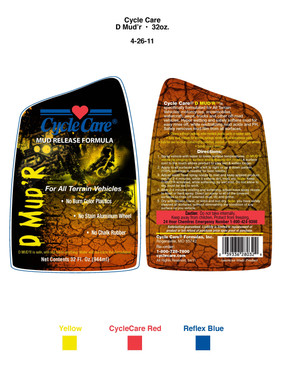 Product Packaging art and layout
