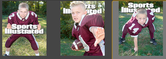 Youth football SI mag cover