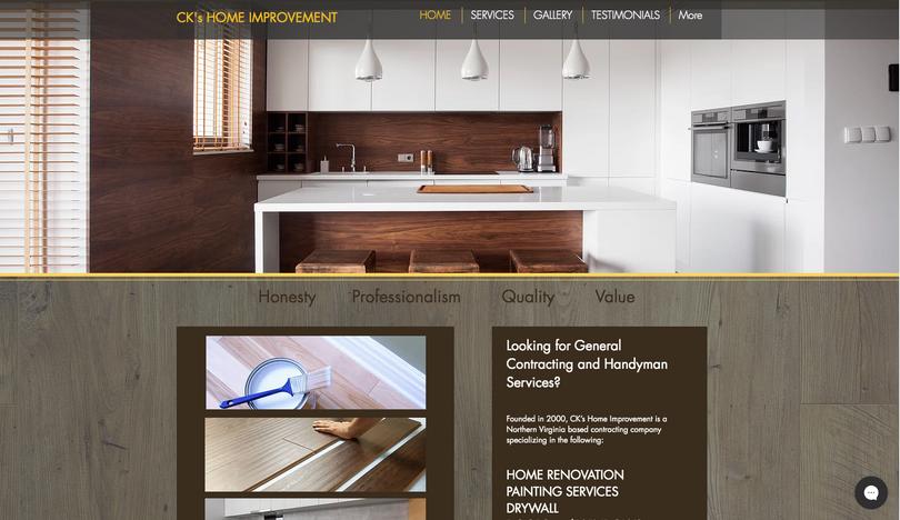 CK's Home Improvement Website