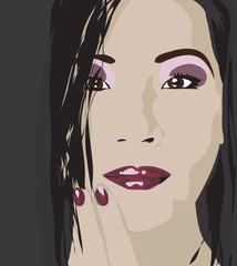 Lucy Lui vector art