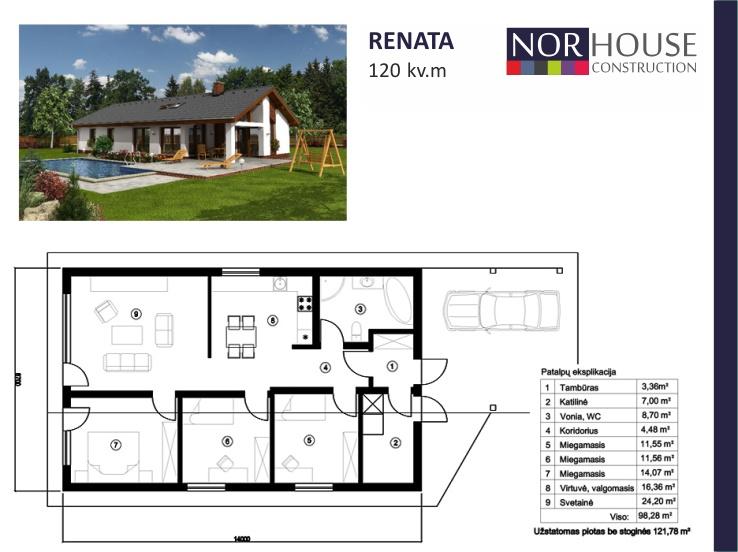 Renata 120 kv.m