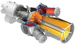 Gas microturbine