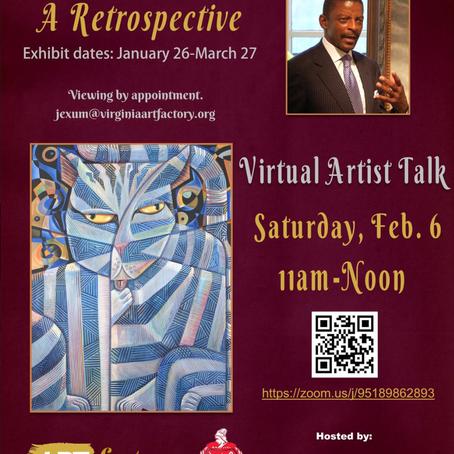 Virtual Artist Talk