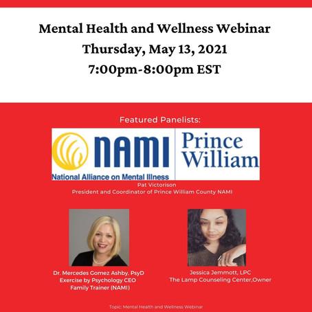 Mental Health and Wellness Webinar