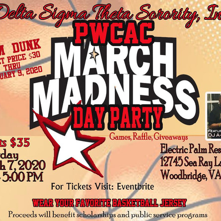 March Madness Day Party!!