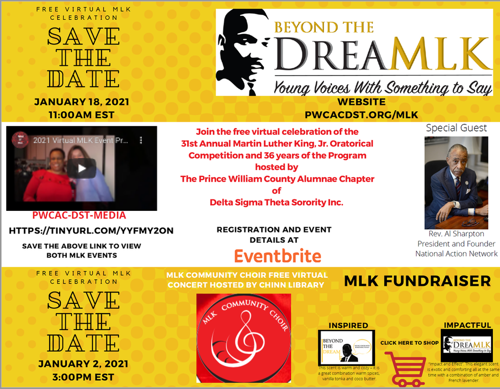 MLK Coming Soon - Save the Date!