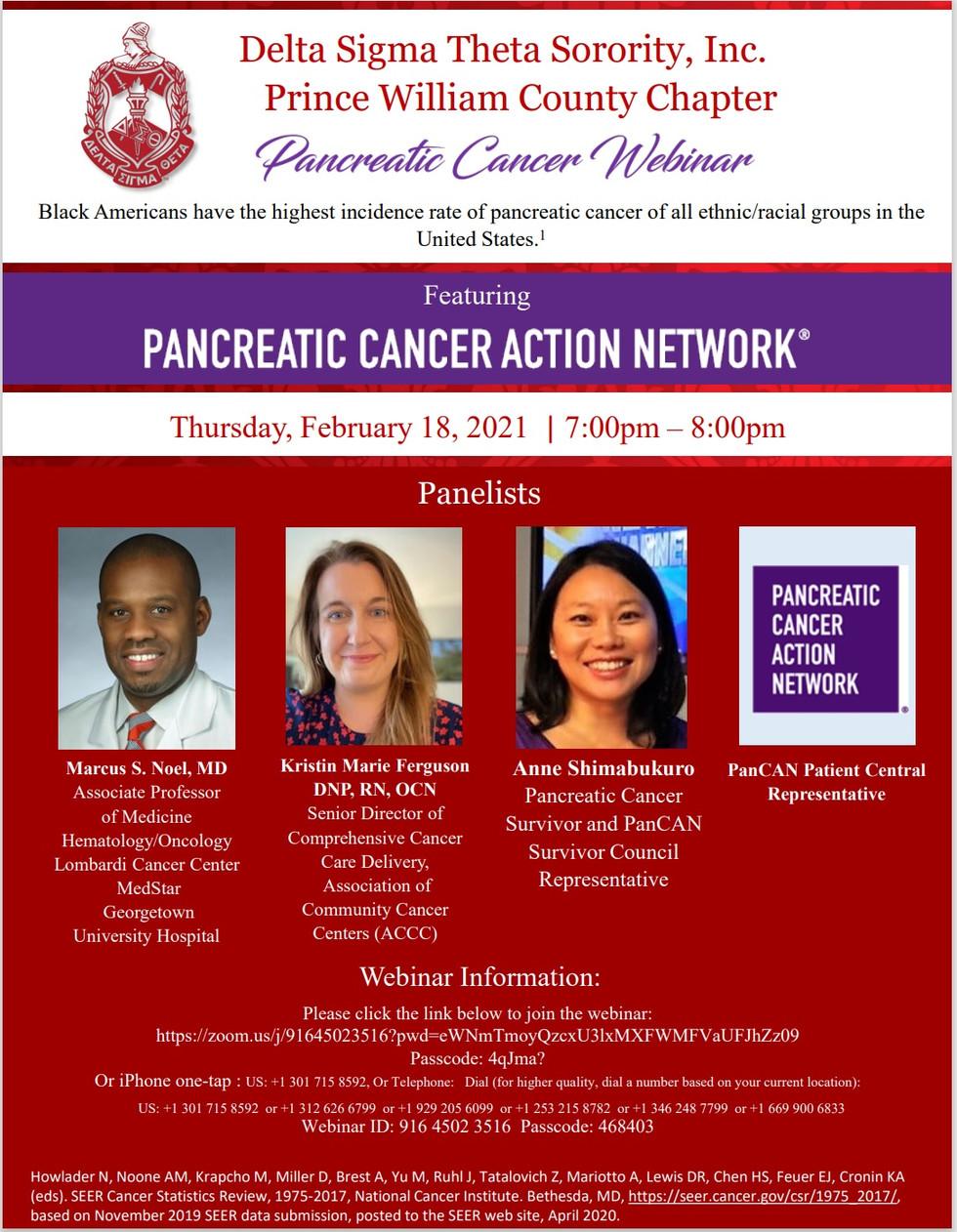 Pancreatic Cancer Webinar