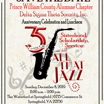 Save The Date : PWCAC 35th Anniversary Luncheon