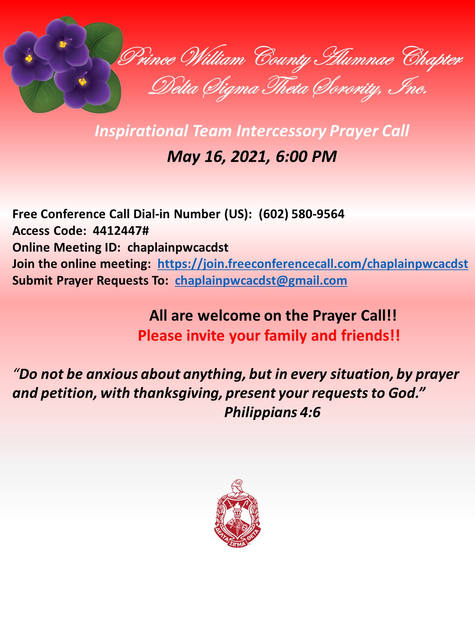 Inspirational Team - Intercesory Prayer