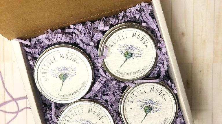 Gift Box Collection - 4 (4 oz) tins