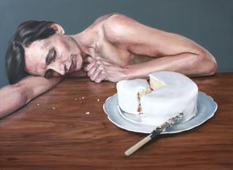 Ilona with Cake