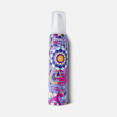 Bust Your Brass Violet Leave-In Treatment Foam - 5.3oz