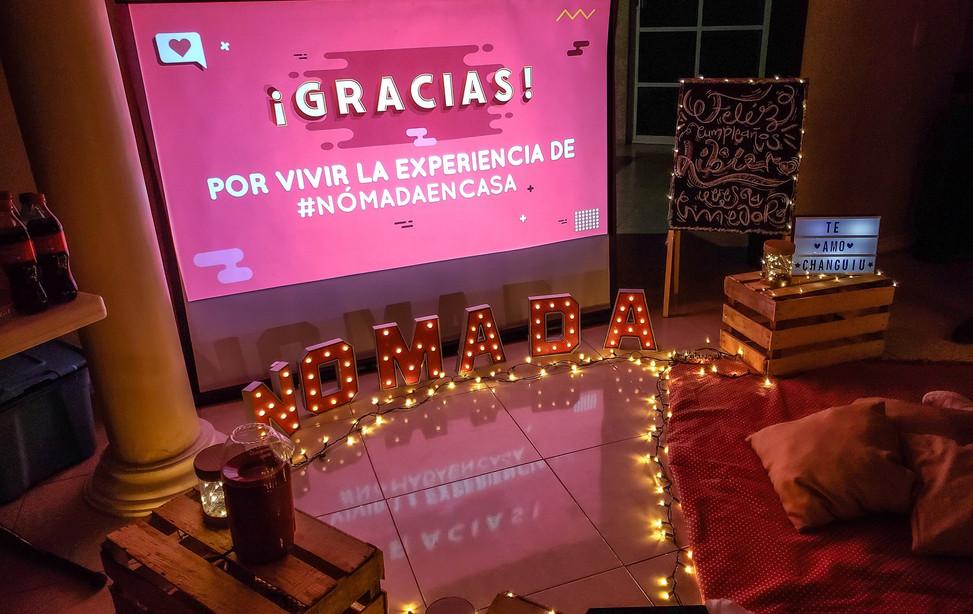 ¡Vive la experiencia de #CineEnCasa!