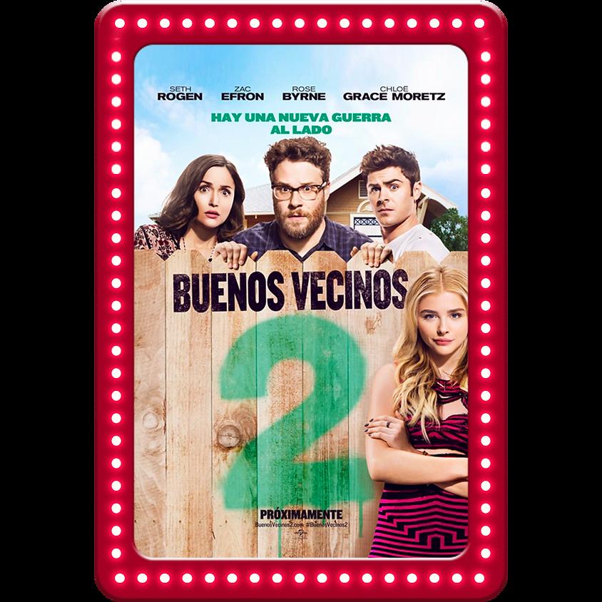 BUENOS VECINOS 2 - FUNCIÓN GRATUITA (Doblada al español)