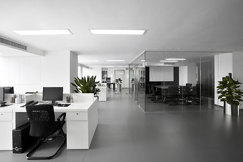 Office after renovation by Phoenix Decorators Worcester 2021