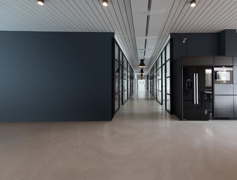 modern business hallway decorated by Phoenix Decorators 2021