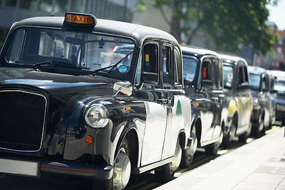 Black cabs line dup Orchard Auto Mobile Car Valeting 2021 Edinburgh