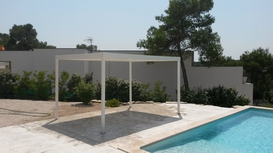 Pergola tonnelle abri de piscine