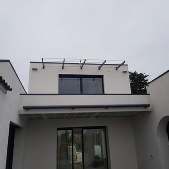 "Pergola ""design"" pour balcon"