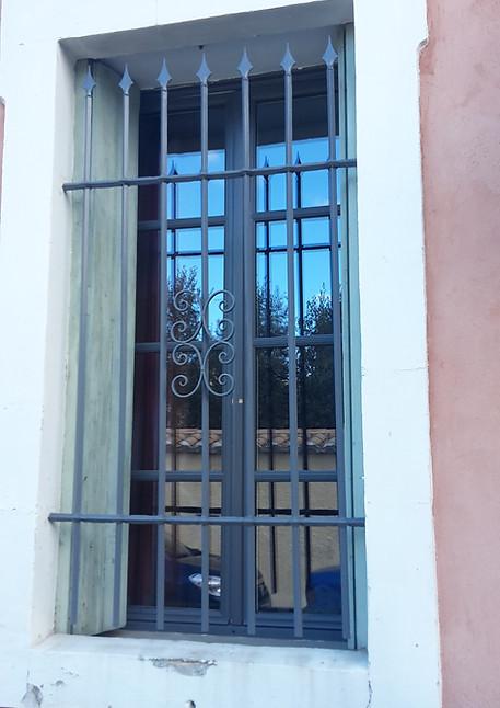 Griille de défense pour fenêtre