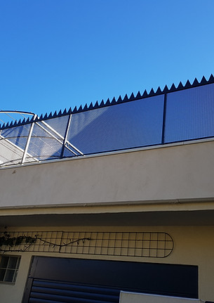 Grille de protection pour terrasse